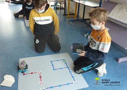 PROGRAMMATION ROBOTS